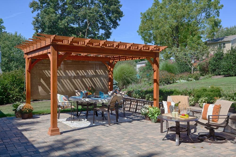 10' x 12' Traditional Pergola - 10' X 12' Traditional Pergola Stoltzfus Outdoor Living - Easton