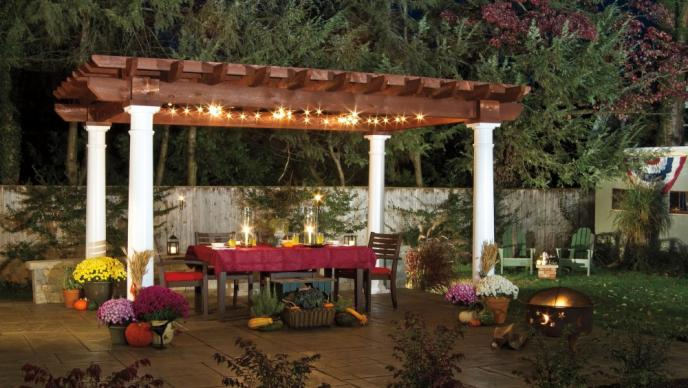 Outdoor Structure Pergola