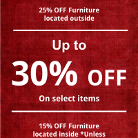 Labor Day weekend Furniture Sale