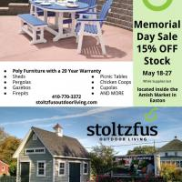 Memorial Day sale ad