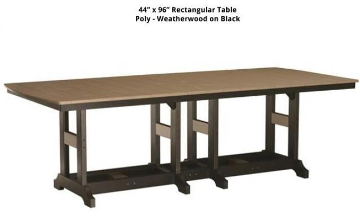 Tables stoltzfus outdoor living easton for 99 normal table