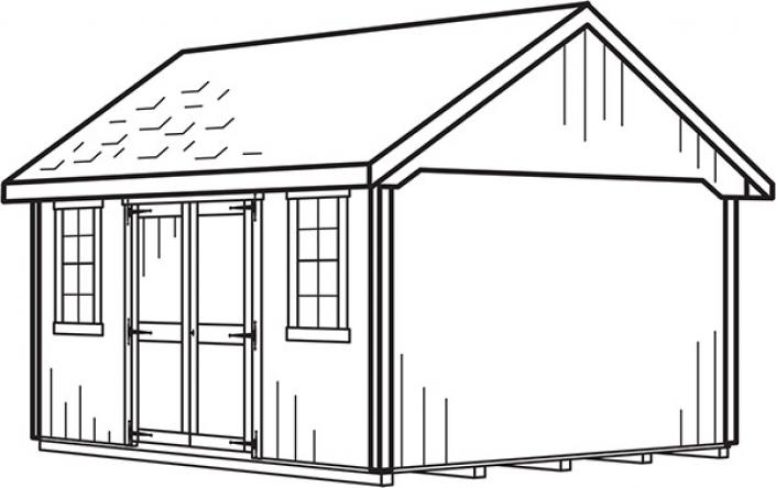 Shed Line Drawings Stoltzfus Outdoor Living Easton
