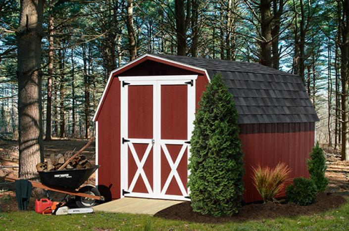 Mini barn stoltzfus outdoor living easton for Mini barn shed